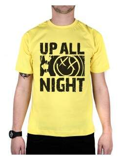 Camiseta Up All Night Amarela