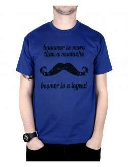 Camiseta Boomer Is A Legend Azul