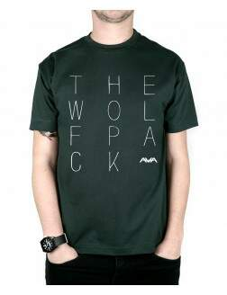Camiseta The Wolfpack Musgo