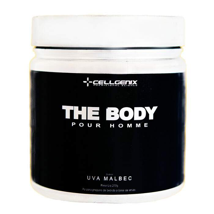 The Body Pour Homme Uva Malbec 200g - Cellgenix