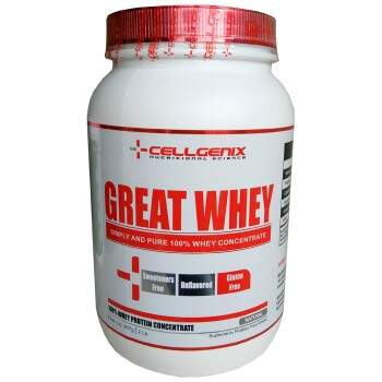 Great Whey 100% Concentrada Natural 907g - Cellgenix