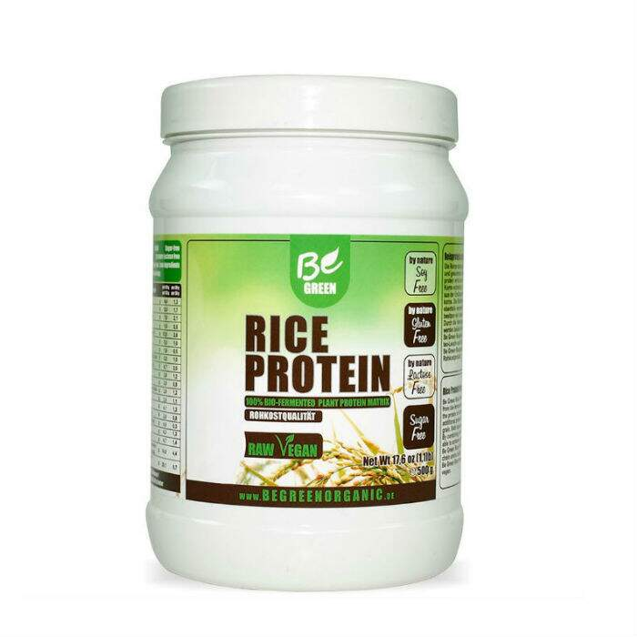 Be Green Rice Protein 500g - Be Green