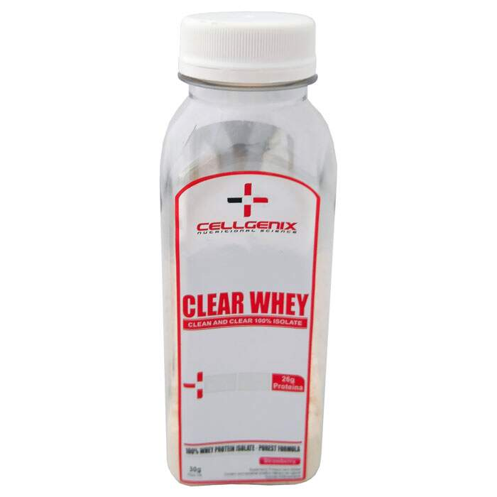 Clear Whey 100% Isolate Dose Individual 30g - Cellgenix