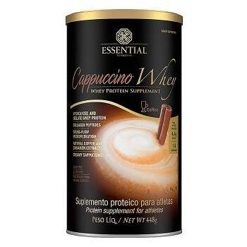 Capuccino Whey 448g - Essential Nutrition