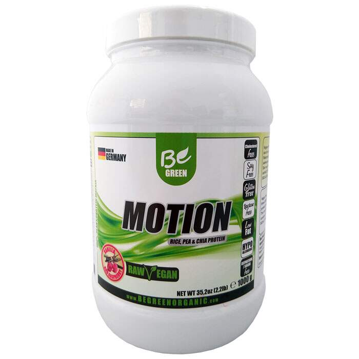 Motion - Rice, Pea and Chia Protein 1000g - Be Green