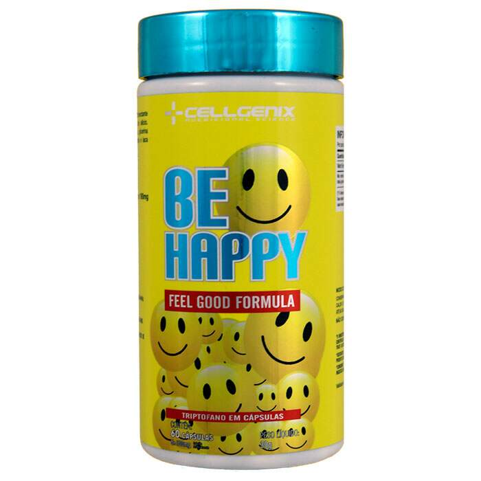 Be Happy Feel Good Formula 60 cápsulas - Celgenix
