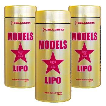 Models Lipo 30 Cápsulas - Cellgenix - 3 Unidades