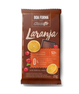 Tablete Chocolate 53% Boa Forma Laranja com Acerola 25g - Chocolife