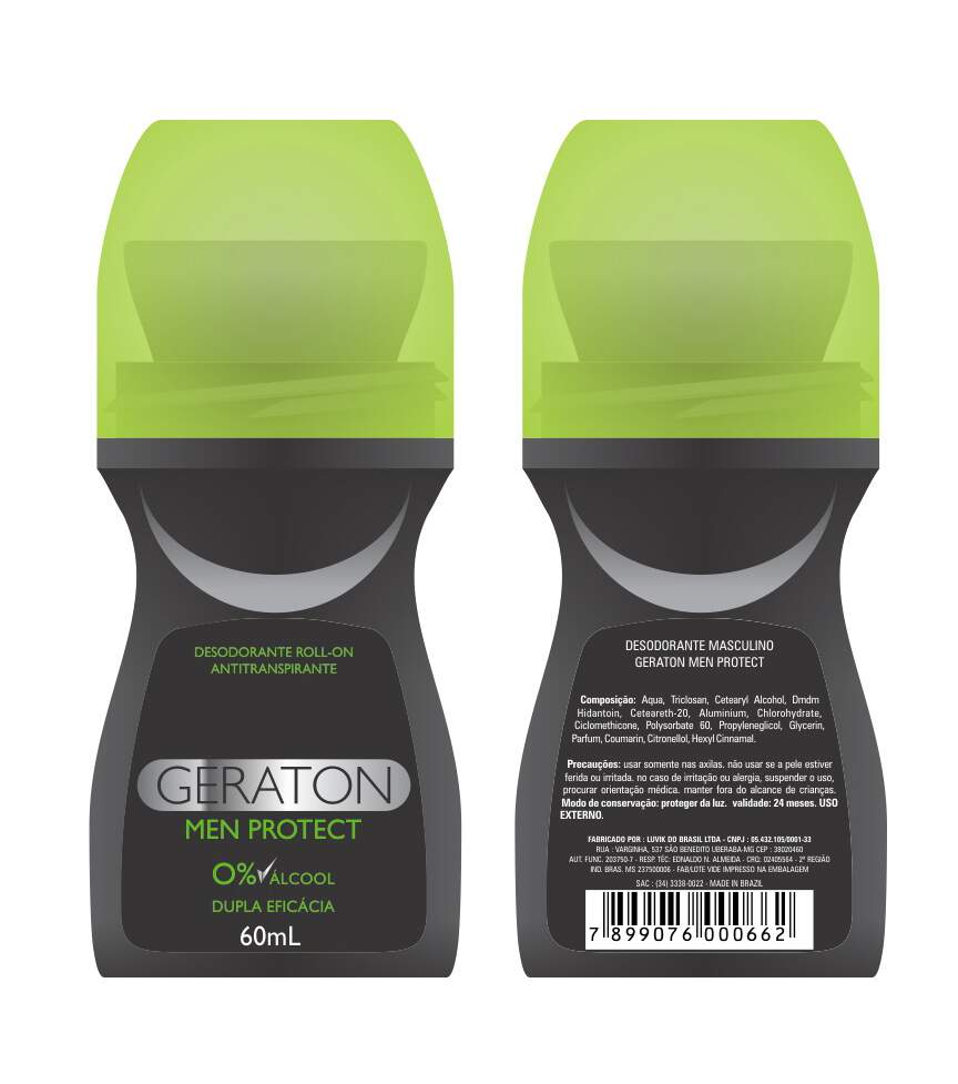 Geraton - Desodorante Roll-On Men Protect