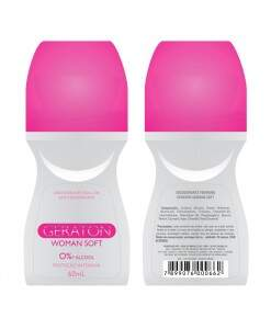 Geraton - Desodorante Roll-On Woman Soft