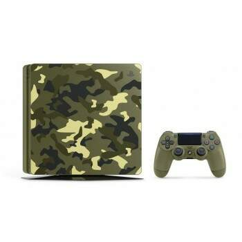 Console Playstation 4 Slim 1tb Camuflado com jogo Call of Duty WW2