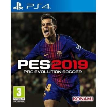 Pro Evolution Soccer 2019 PES 19 - PS4