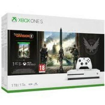 Console Xbox One S 1Tb THE DIVISION 2