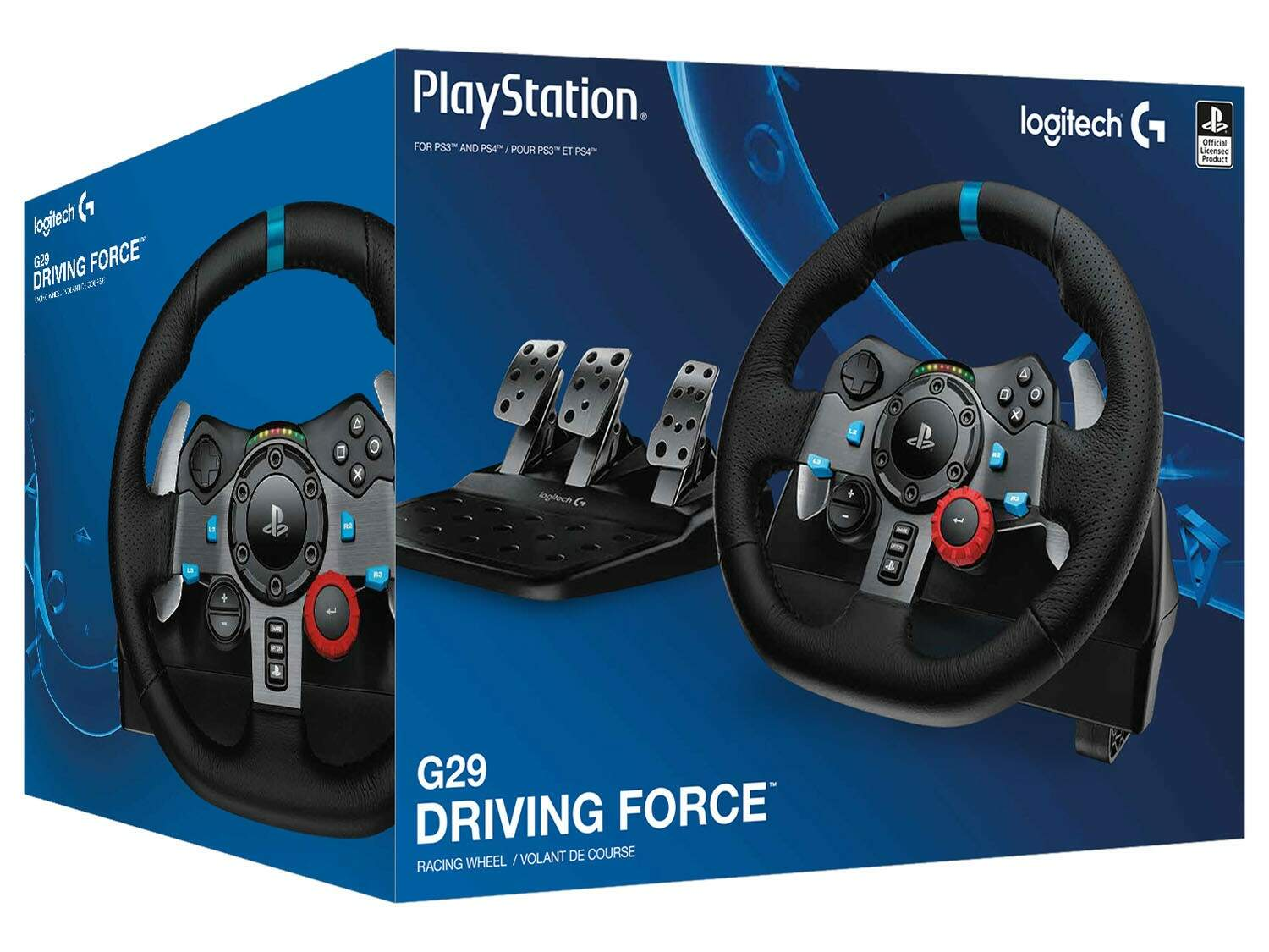 Volante para PS4 PS3 ou Windows Logitech - G29