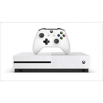 Console Xbox One S Branco 500gb + Hdr + 4k Streaming - Microsoft