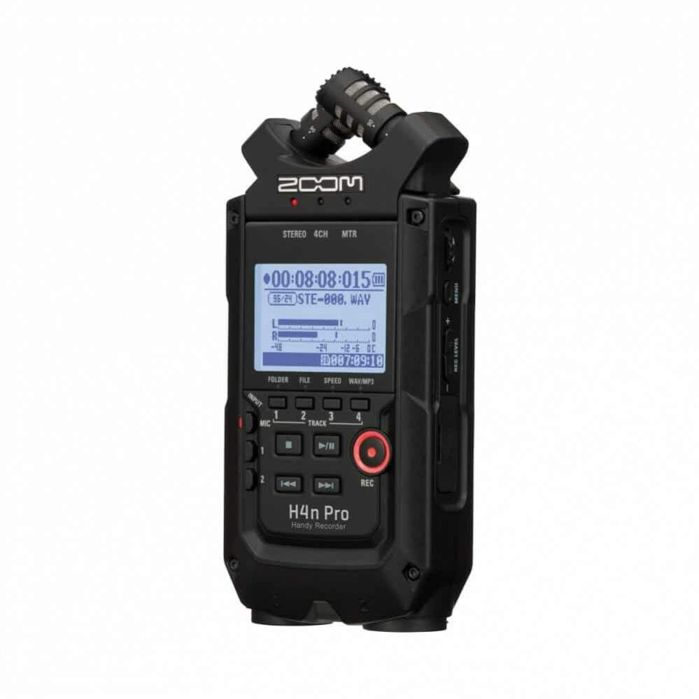 GRAVADOR DIGITAL ZOOM H4nPRO HANDY RECORDER - BLACK