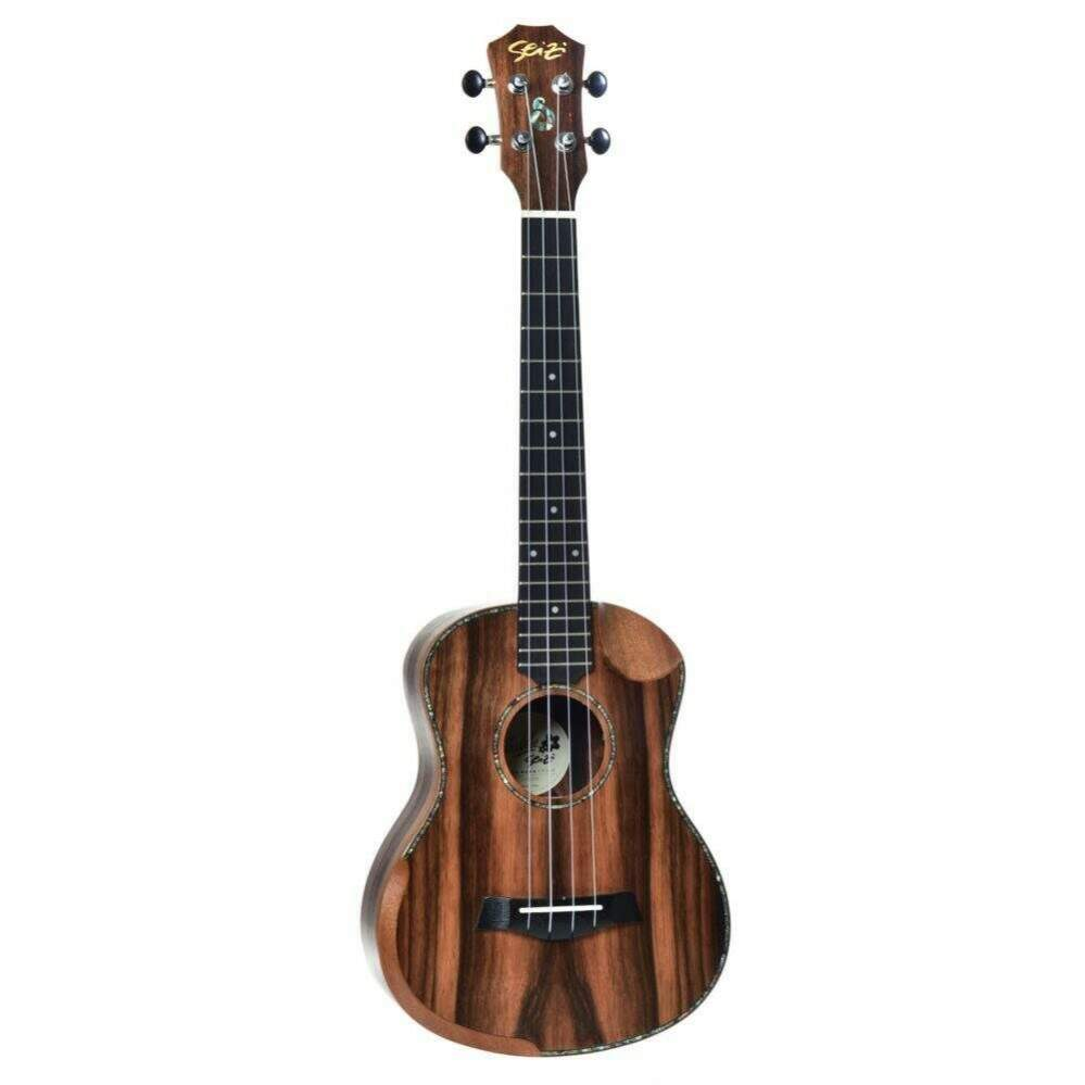 UKULELE SEIZI BORA-BORA CRUSH TENOR ACUSTICO BAG - EBONY