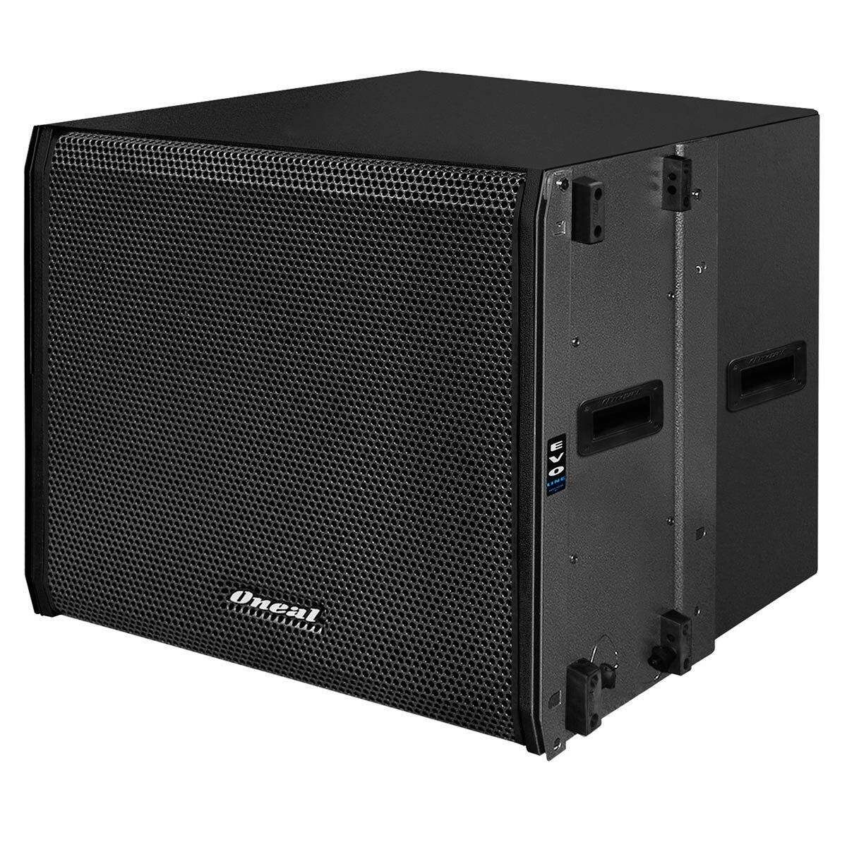 Subwoofer Oneal Line Array Ativo Fal 18 Pol 600W OLS1018