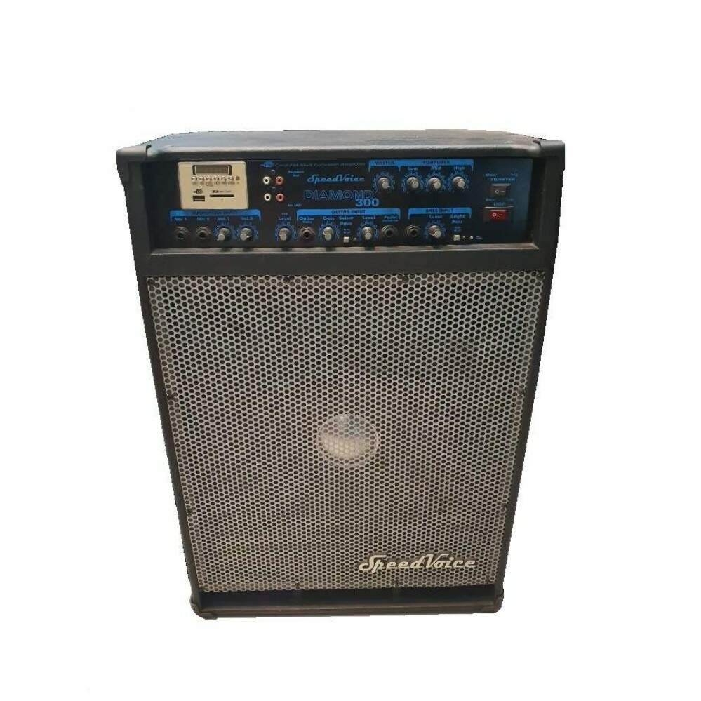 Caixa Amplificada Speed Voice Diamond 300 USB Mostruário
