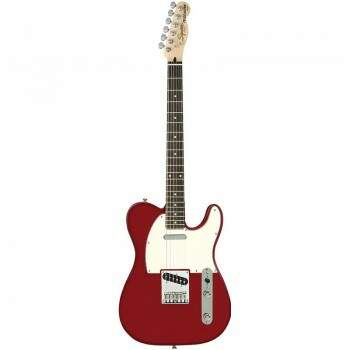 Guitarra Fender 032 1200 Squier Standard 509 Candy Apple Red.