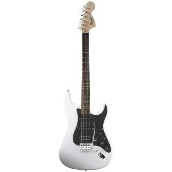 Guitarra Fender 031 0700 Squier Affinity Fat Strat 505 Olympic White.