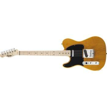 Guitarra Fender 031 0223 Squier Affinity Telecaster LH Canhoto 550 Butterscotch Blonde