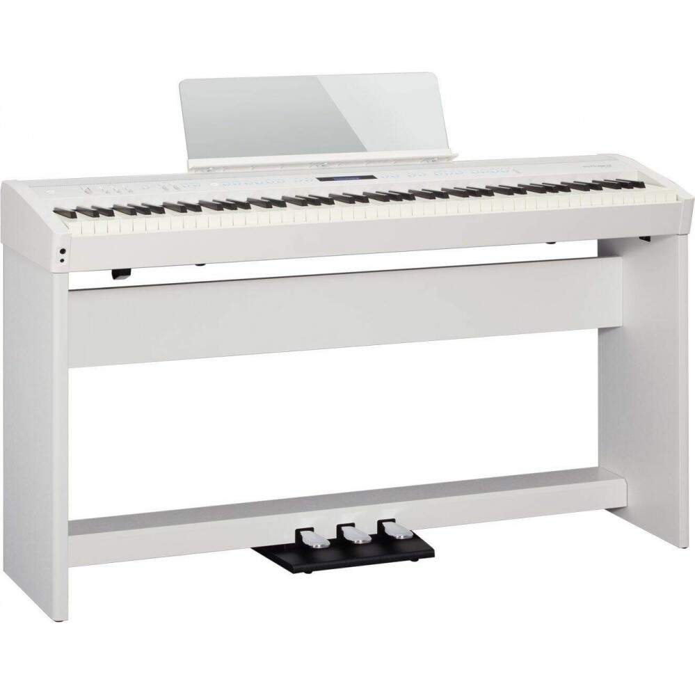 Piano Digital Roland FP60 WH+ KSC72WH + KPD90WH