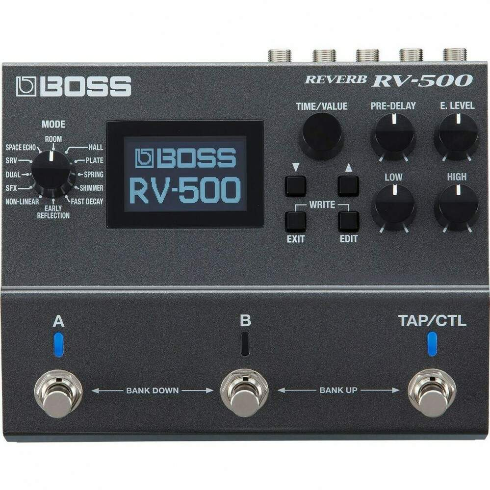 Pedal Digital Reverb RV500 Boss