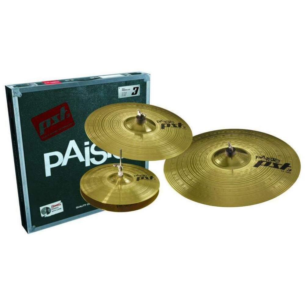 Kit de Pratos Paiste PST3 Universal Set Series 16 20 14