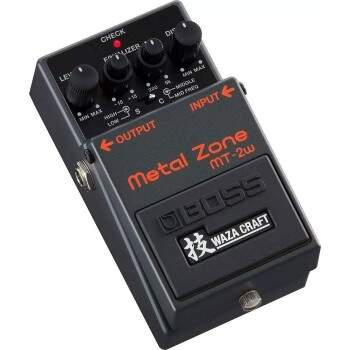 Pedal Boss Mt2w Metal Zone Waza Craft Made In Japan