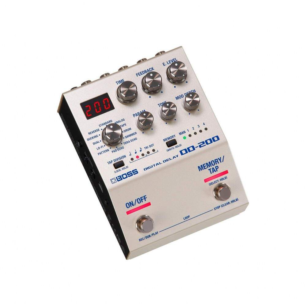 Pedal Boss DD200 Digital Delay DD-200