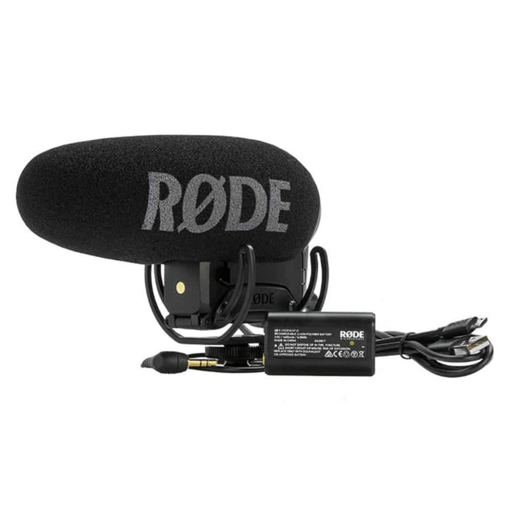 MICROFONE PARA VIDEO CAMERA BATERIA LB1 RODE VIDEOMIC PRO