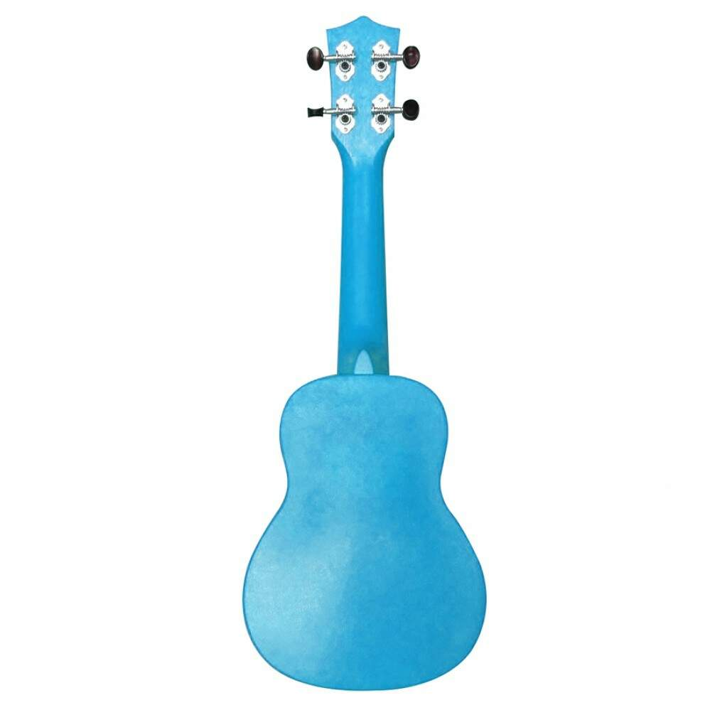 Ukulele Soprano 21 Abs Flamed Okume Azul C Capa Colors 12715