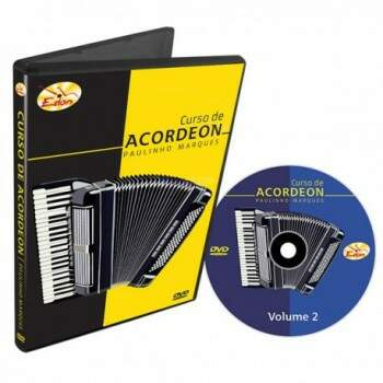 DVD Edon Curso de Acordeon Intermediário Vol 1