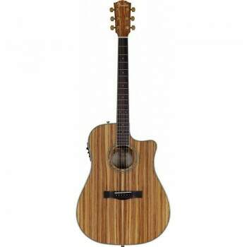 Violao Fender Dreadnought 096 1504 CD220 CE 221 All Zebrano.