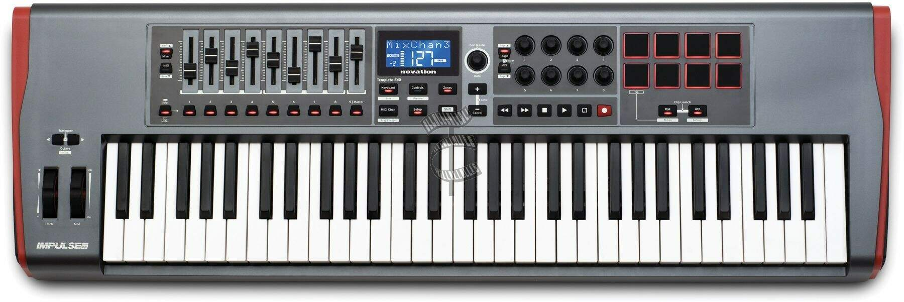 Controlador Novation Impulse61