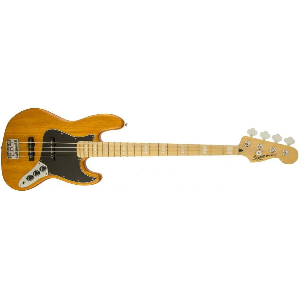 Contra Baixo Fender 030 7702 Squier Vintage Modified J. Bass 77 520 Amber.