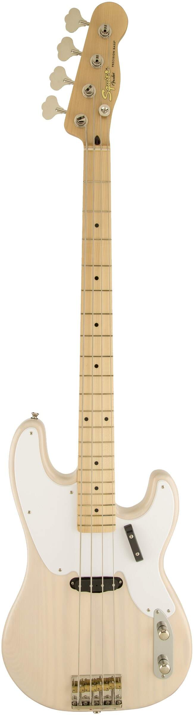 Contra Baixo Fender 030 3080 Squier Classic Vibe P. Bass 50S White Blonde.