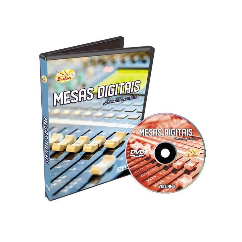 DVD Edon Curso de Mesas Digitais Vol 3