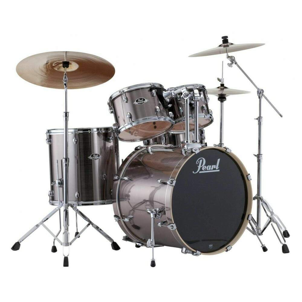 Bateria Pearl Export EXX725SP/C Smokey Chrome ShellPack
