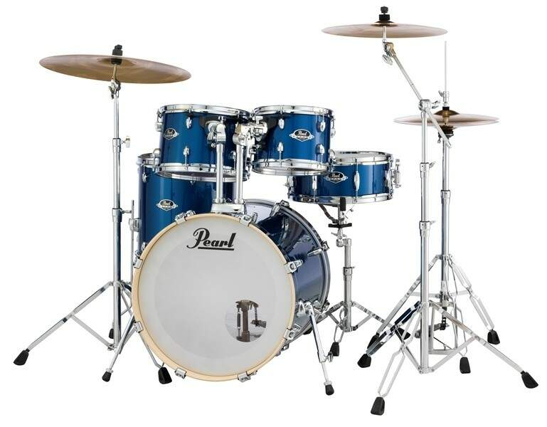 Bateria Pearl Export EXX725SP/C Blue Electric Sparkle ShellPack