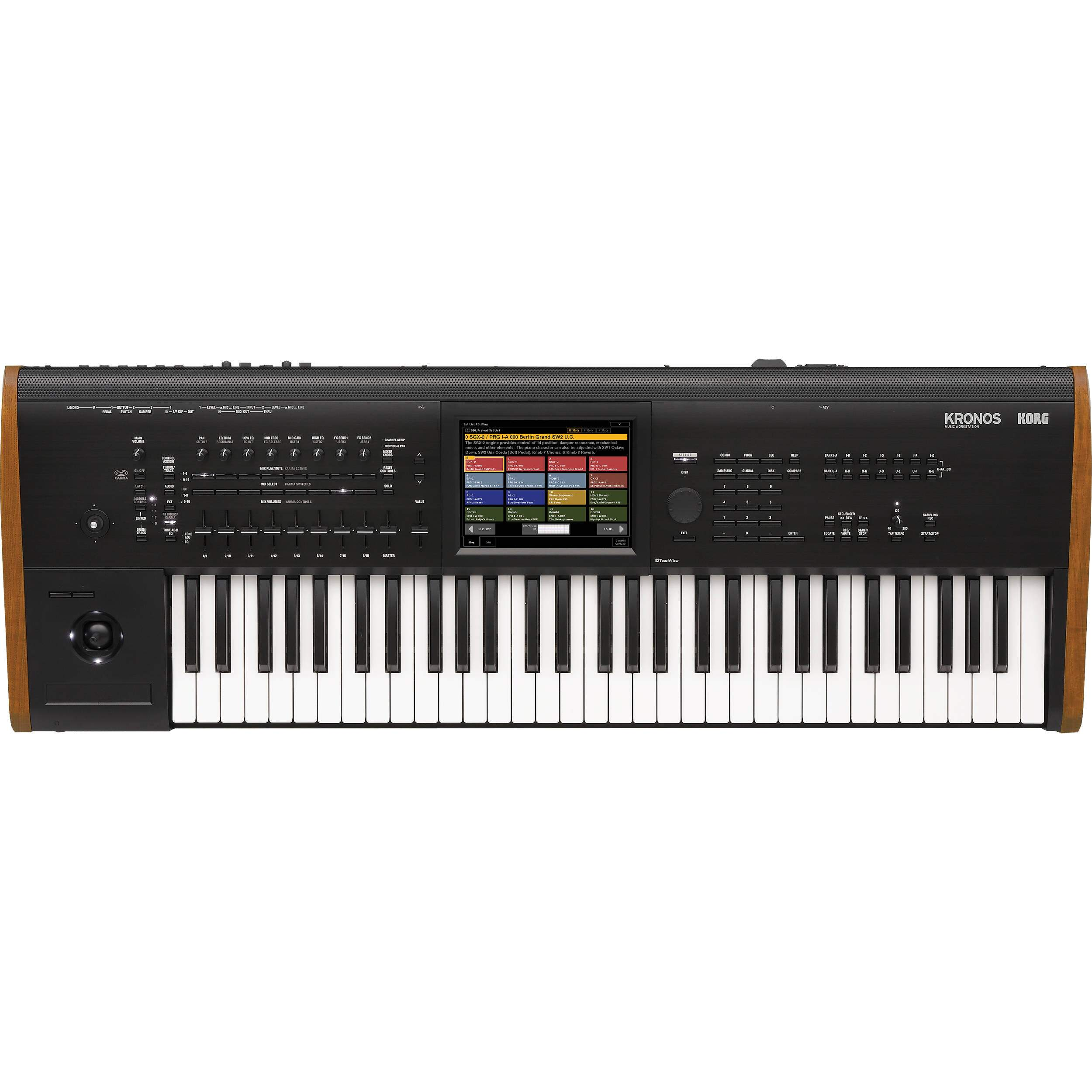 Teclado Workstation Korg Kronos2 61