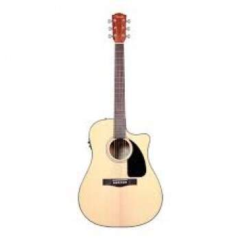 Violão Fender Dreadnought com Case New CD60CE NA 096 1536