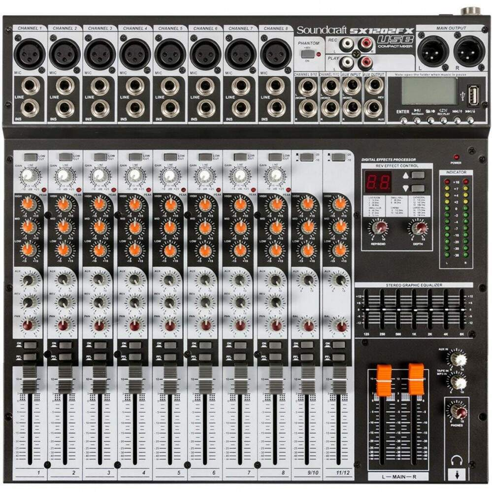 Mesa Soundcraft SX1202FXUSB