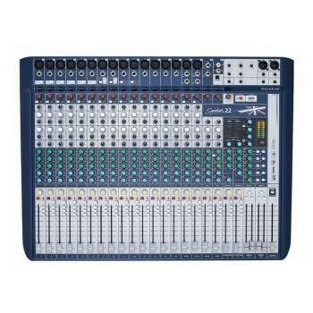 Mesa Soundcraft Signature 22 Canais