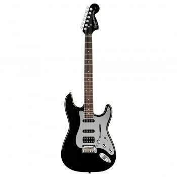 Guitarra Fender 032 1703 Squier Black And Chrome Strat HSS 506 Black