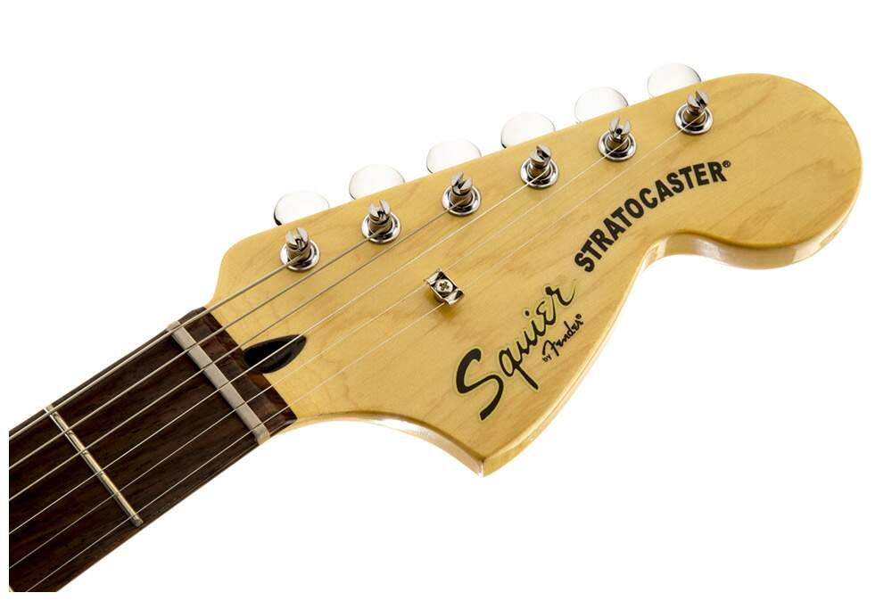 Guitarra Fender 030 1215 Squier Vintage Modified Strato HSS RW 506 Black.