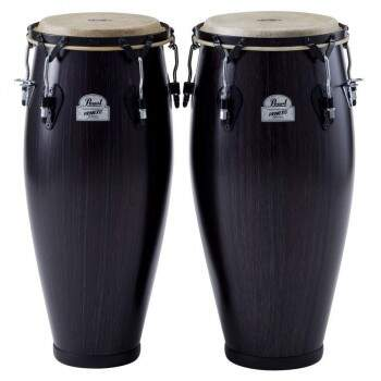 Set de Congas Pearl PFC202 + Estante Pearl PC200