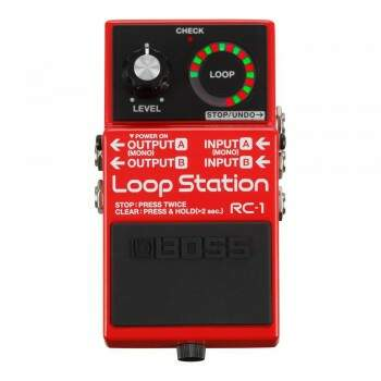 Pedal Guitarra Boss Loop Station RC1