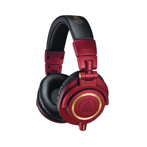 Headphone Audio Technica ATHM50xRD Edição Limitada